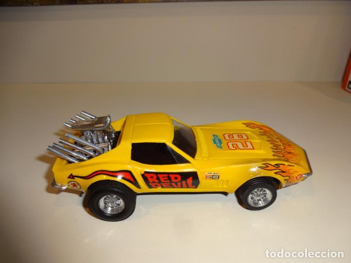 Scalextric: Scalextric. Exin. Chevrolet Corvette Amarillo. Ref. 4050 - Foto 5 - 225990132