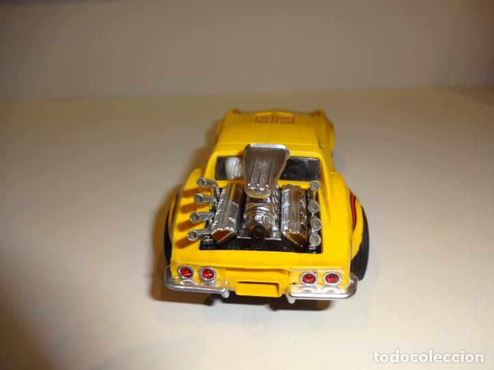 Scalextric: Scalextric. Exin. Chevrolet Corvette Amarillo. Ref. 4050 - Foto 6 - 225990132