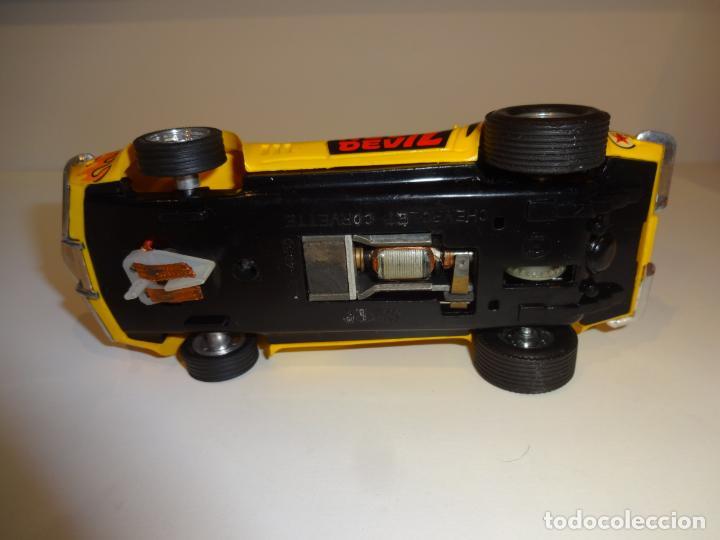 Scalextric: Scalextric. Exin. Chevrolet Corvette Amarillo. Ref. 4050 - Foto 7 - 225990132