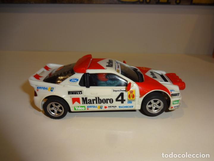 Scalextric: Scalextric. Exin. Ford RS200 marlboro - Foto 5 - 225990632