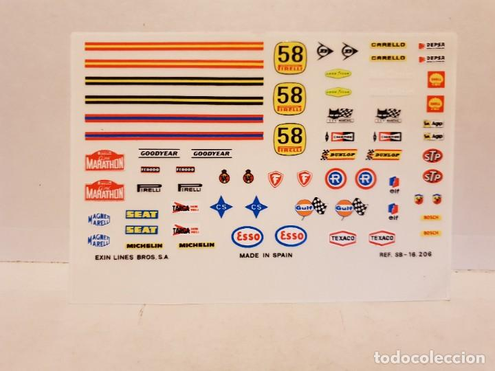 PEGATINA COCHE SCALEXTRIC (Juguetes - Slot Cars - Scalextric Exin)