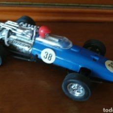 Scalextric: SCALEXTRIC EXIN HONDA 2A SERIE AZUL OSCURO CHASIS NEGRO. Lote 227655765