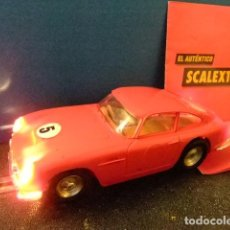 Scalextric: SCALEXTRIC TRI-ANG ASTON MARTIN GT ROJO CON LUCES C 68. Lote 228090385