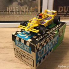 Scalextric: SCALEXTRIC EXIN LOTUS MK4 F1.. Lote 228508410