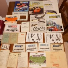 Scalextric: LOTE DOCUMENTACIÓN. Lote 229789385