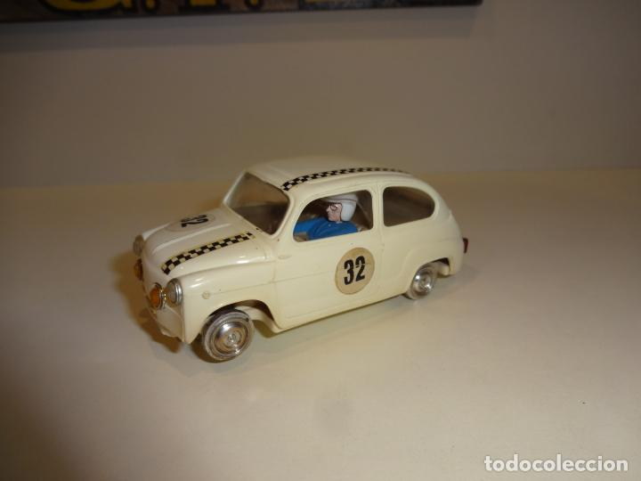 SCALEXTRIC. EXIN. SEAT 600 BLANCO 1º SERIE (Juguetes - Slot Cars - Scalextric Exin)