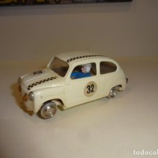 Scalextric: SCALEXTRIC. EXIN. SEAT 600 BLANCO 1º SERIE. Lote 229802940