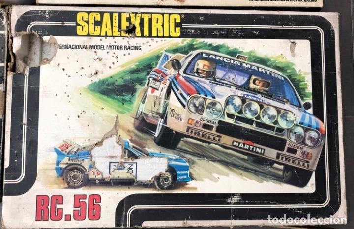 Scalextric: SCALEXTRIC EXIN LOTE DE 4 CAJAS VACIAS ORIGINALES. SOLO ENTREGO EN MANO, NO SE ENVIA - Foto 3 - 230461985