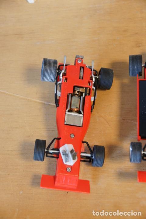 Scalextric: Scalextric GP-16. 3 coches + 2 mandos + 17 pistas + fuente de alimentación + caja bien conservada. - Foto 10 - 230688090