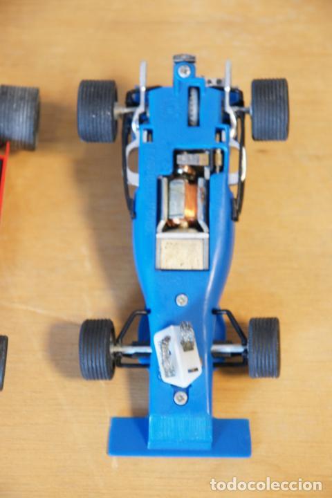 Scalextric: Scalextric GP-16. 3 coches + 2 mandos + 17 pistas + fuente de alimentación + caja bien conservada. - Foto 12 - 230688090