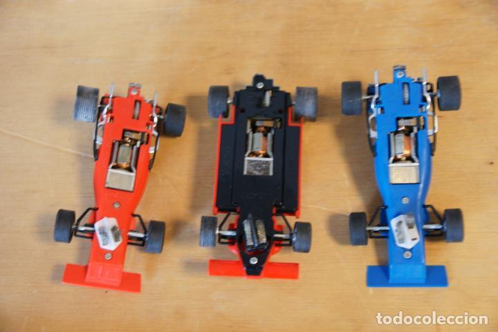 Scalextric: Scalextric GP-16. 3 coches + 2 mandos + 17 pistas + fuente de alimentación + caja bien conservada. - Foto 13 - 230688090
