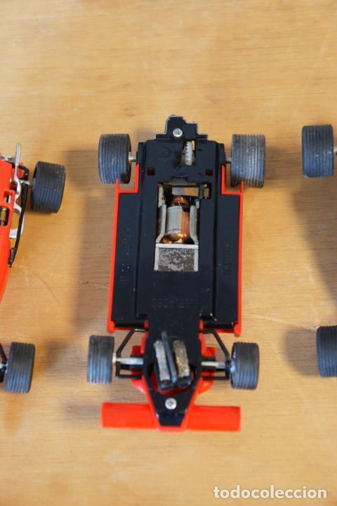Scalextric: Scalextric GP-16. 3 coches + 2 mandos + 17 pistas + fuente de alimentación + caja bien conservada. - Foto 14 - 230688090