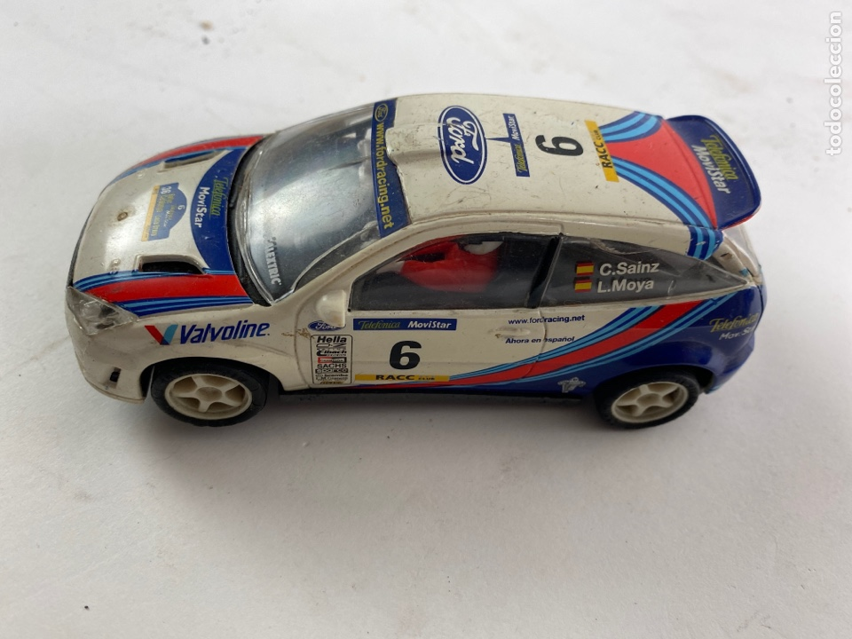 Scalextric: COCHE SCALEXTRIC FORD FOCUS WRC. - Foto 2 - 231282335