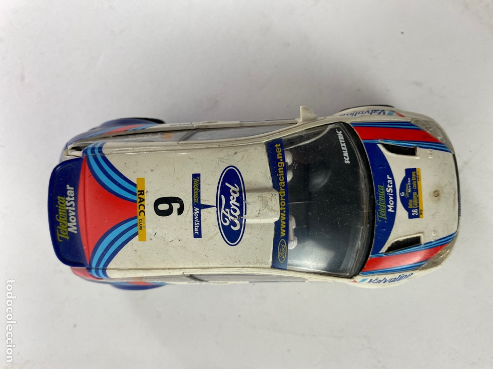 Scalextric: COCHE SCALEXTRIC FORD FOCUS WRC. - Foto 3 - 231282335