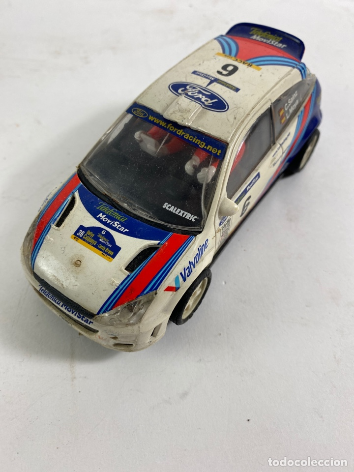 COCHE SCALEXTRIC FORD FOCUS WRC. (Juguetes - Slot Cars - Scalextric Exin)