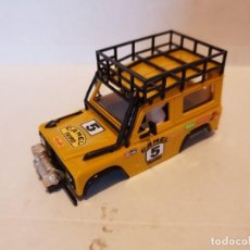 Scalextric: SCALEXTRIC CARROCERIA STS LAND ROVER MOSTAZA. Lote 231336955