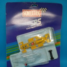 Scalextric: EXIN SCALEXTRIC SRS BLISTER LOTUS 99T F1 CAMEL SENNA 1990 SPAIN NEW. Lote 231406500
