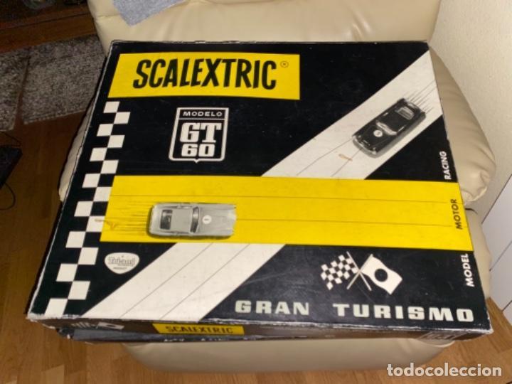 Scalextric: ESTUCHE / CAJA - Modelo GT 60 / GT-60 - SCALEXTRIC EXIN MERCEDES 250 MADE SPAIN SLOT Mira SIN COCHE - Foto 5 - 231500920