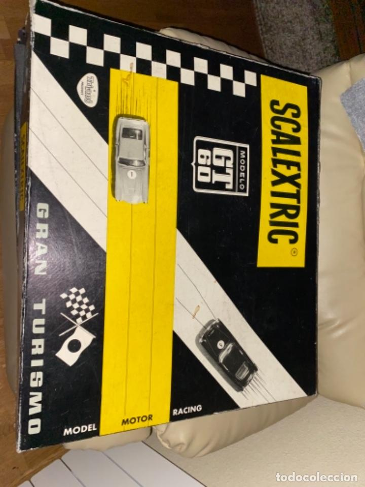 Scalextric: ESTUCHE / CAJA - Modelo GT 60 / GT-60 - SCALEXTRIC EXIN MERCEDES 250 MADE SPAIN SLOT Mira SIN COCHE - Foto 6 - 231500920