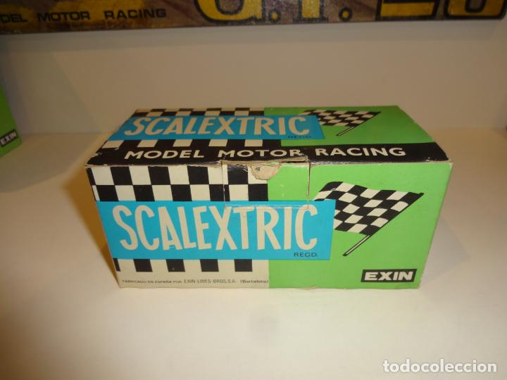 SCALEXTRIC. EXIN. CAJA FORD FIESTA. REF. 4057 (Juguetes - Slot Cars - Scalextric Exin)