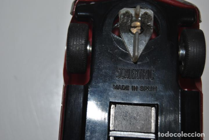 Scalextric: MERCEDES 250 SL SCALEXTRIC REF C 32 EXIN MADE IN SPAIN CAPOTA BLANCA - Foto 9 - 232810675
