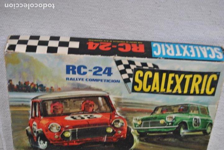 Scalextric: CIRCUITO EXIN RC 24 SCALEXTRIC SIN COCHES - Foto 6 - 232923910
