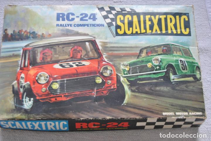 CIRCUITO EXIN RC 24 SCALEXTRIC SIN COCHES (Juguetes - Slot Cars - Scalextric Exin)