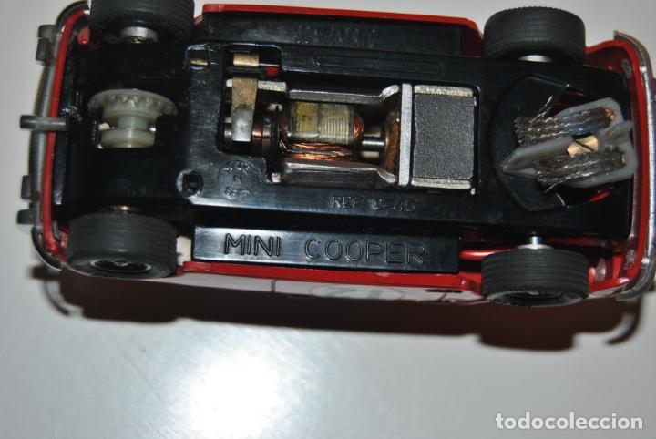 Scalextric: MINI COOPER ROJO CLARO SCALEXTRIC EXIN REF C-45 MADE IN SPAIN CON CAJA ORIGINAL Y MANTENIMIENTO - Foto 12 - 233873270