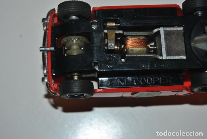 Scalextric: MINI COOPER SCALEXTRIC EXIN REF C-45 MADE IN SPAIN - Foto 8 - 233875245