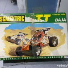 Scalextric: SCALEXTRIC EXIN TT BAJA COCHE BLANCO Y ROJO. Lote 234388400