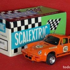 Scalextric: COCHE CON CAJA PORSCHE CARRERA RS REF. 4051 SCALEXTRIC DE EXIN. Lote 234561910