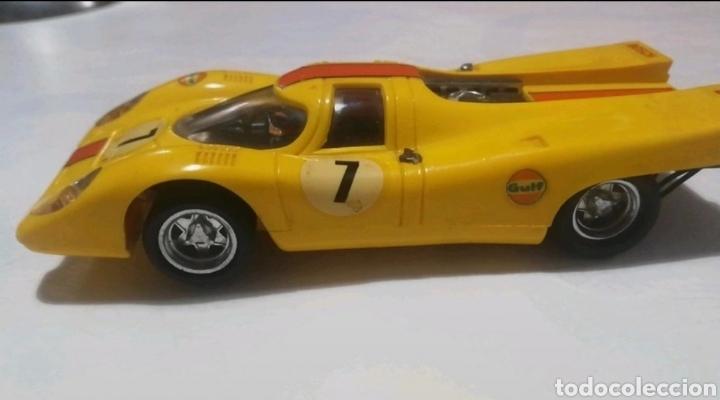 Scalextric: Porsche Scalextric vintage color amarillo - Foto 3 - 234784635
