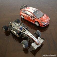 Scalextric: PAREJA COCHES SCALEXTRIC MACLAREN MERCEDES MP4/20 Y CITROEN C4 WRC. Lote 235158410