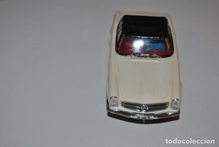MERCEDES 250 SL SCALEXTRIC REF C 32 EXIN MADE IN SPAIN CAPOTA NEGRA (Juguetes - Slot Cars - Scalextric Exin)