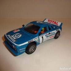 Scalextric: SCALEXTRIC. EXIN. LANCIA 037 AZUL PIONEER.. Lote 235434875