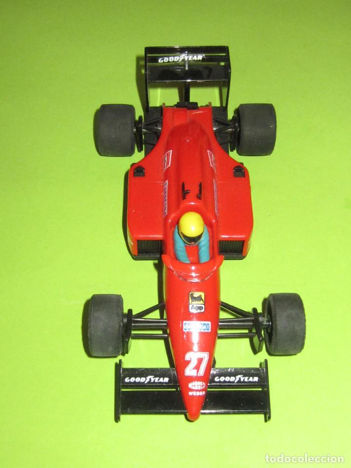 Scalextric: FERRARI F1/87 Nº 27 ROJO ORIGINAL 100 X 100 EN MUY BUEN ESTADO - Foto 4 - 235484360
