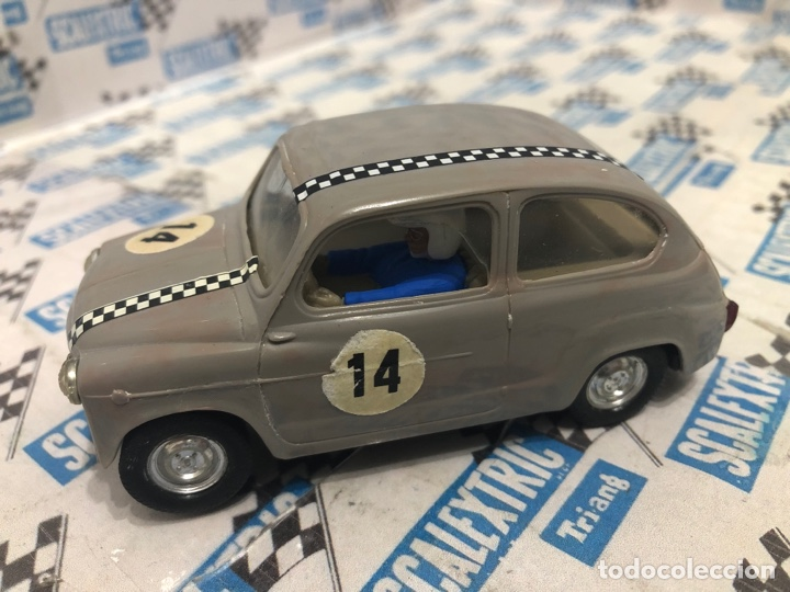 SEAT 600 GRIS 2A SERIE SCALEXTRIC (Juguetes - Slot Cars - Scalextric Exin)
