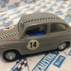 Scalextric: SEAT 600 GRIS 2A SERIE SCALEXTRIC. Lote 235543205