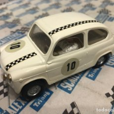 Scalextric: SEAT 600 BLANCO 1A SERIE. Lote 235544840