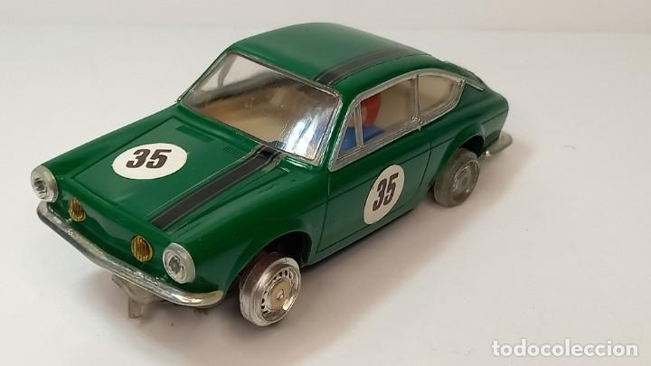 SEAT 850 COUPE VERDE SCALEXTRIC EXIN (Juguetes - Slot Cars - Scalextric Exin)
