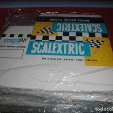Scalextric: 10 CAJAS REPRODUCCIÓN SCALEXTRIC TIPO INGLÉS CON COMPARTIMENTO INTERIOR. Lote 236228750