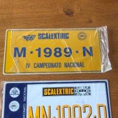 Scalextric: PLACAS ORIGINALEE SCALEXTRIC DE CAMPEONATO NACIONAL. Lote 236246810