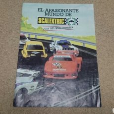 Scalextric: GUIA DEL SCALEXTRISTA EXIN SCALEXTRIC. Lote 236268570