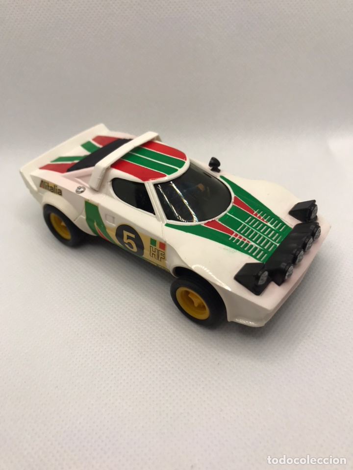 SCALEXTRIC LANCIA STRATOS BLANCO EXIN (Juguetes - Slot Cars - Scalextric Exin)