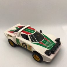 Scalextric: SCALEXTRIC LANCIA STRATOS BLANCO EXIN. Lote 236380385
