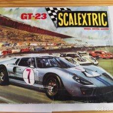 Scalextric: CIRCUITO SCALEXTRIC GT 23 DE EXIN CON DOS FORD GT.. Lote 236408720
