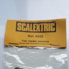 Scalextric: SLOT SCALEXTRIC EXIN TREN RUEDAS DELANTERO O POSTERIOR PORSCHE 959. Lote 236713455