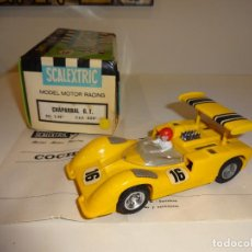 Scalextric: SCALEXTRIC. EXIN. CHAPARRAL GT AMARILLO. CAJA ORIGINAL!. REF. C-40. Lote 236900905