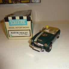 Scalextric: SCALEXTRIC. EXIN. AUSTIN HEALEY VERDE CON CAJA ORIGINAL. Lote 236902930
