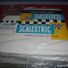 Scalextric: 10 CAJAS REPRODUCCIÓN SCALEXTRIC TIPO INGLÉS CON COMPARTIMENTO INTERIOR. Lote 237571115